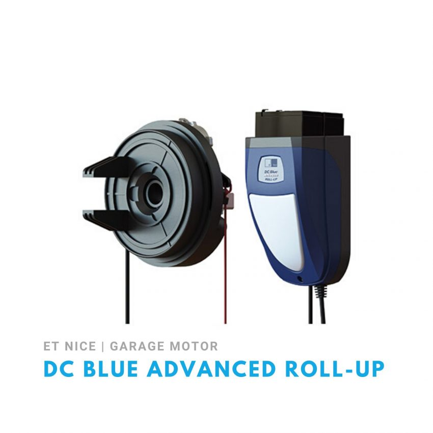 ET DC Blue Advanced Roll-Up Garage Door Motor